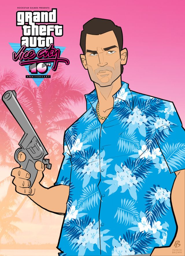 Grand Theft Auto: Vice City 1.0 (2012) iOS