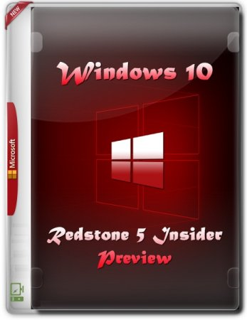 Windows 10 Redstone 5 (Оригинал) (v 17650.1001) (2018)